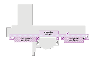 A map of the Science Centre, Level 5.